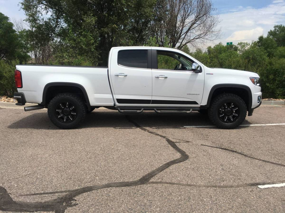 how to put a duramax in a colorado