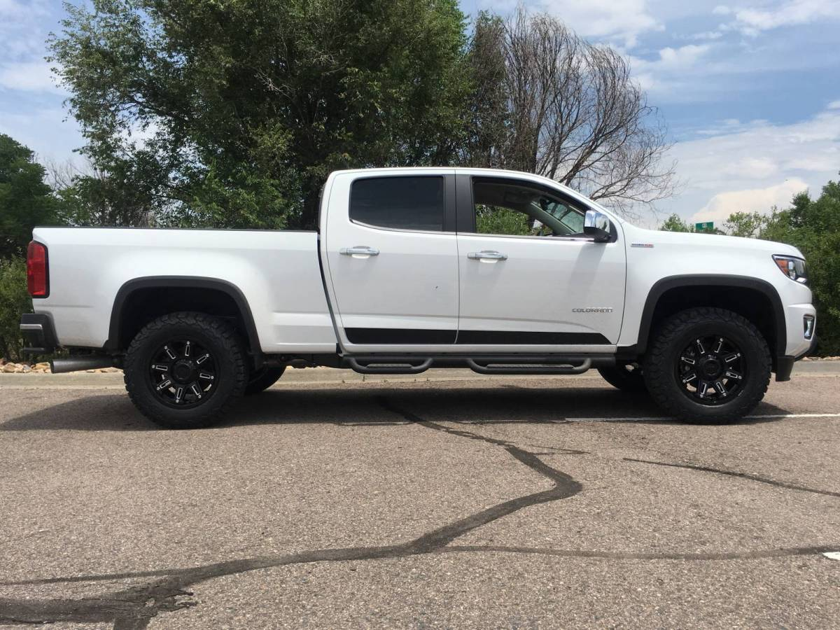 2016 Chevy Colorado Duramax with Icon Stage 2 Suspension