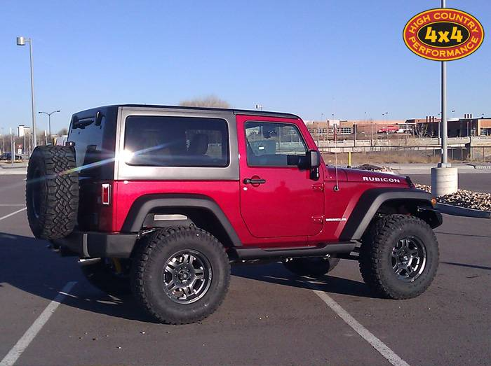 """2012 JEEP JK RUBICON OME 4"""" SUSPENSION ON 35"""" GOODYEAR DURATRACS AND ATX ARTILLERY WHEELS WITH ..."""