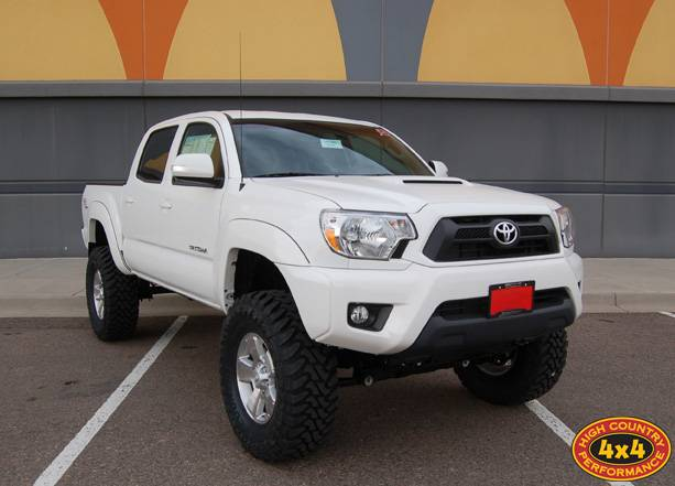 "2014 TOYOTA TACOMA WITH 6"" BDS SUSPENSION LIFT (BUILD# 49843)"