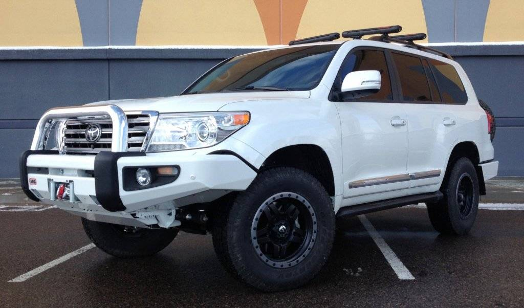 "Toyota Tire Deals >> 2015 TOYOTA LAND CRUISER OME 2"" SUSPENSION ARB BUMPERS"