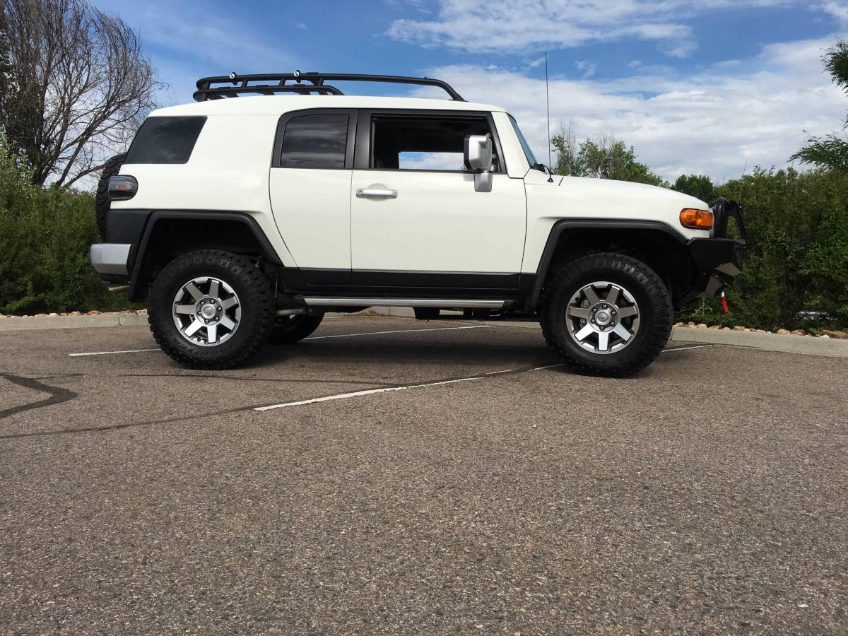 2014 Fj Cruiser Toytec Suspension 33 Quot Tires Arb Bumper