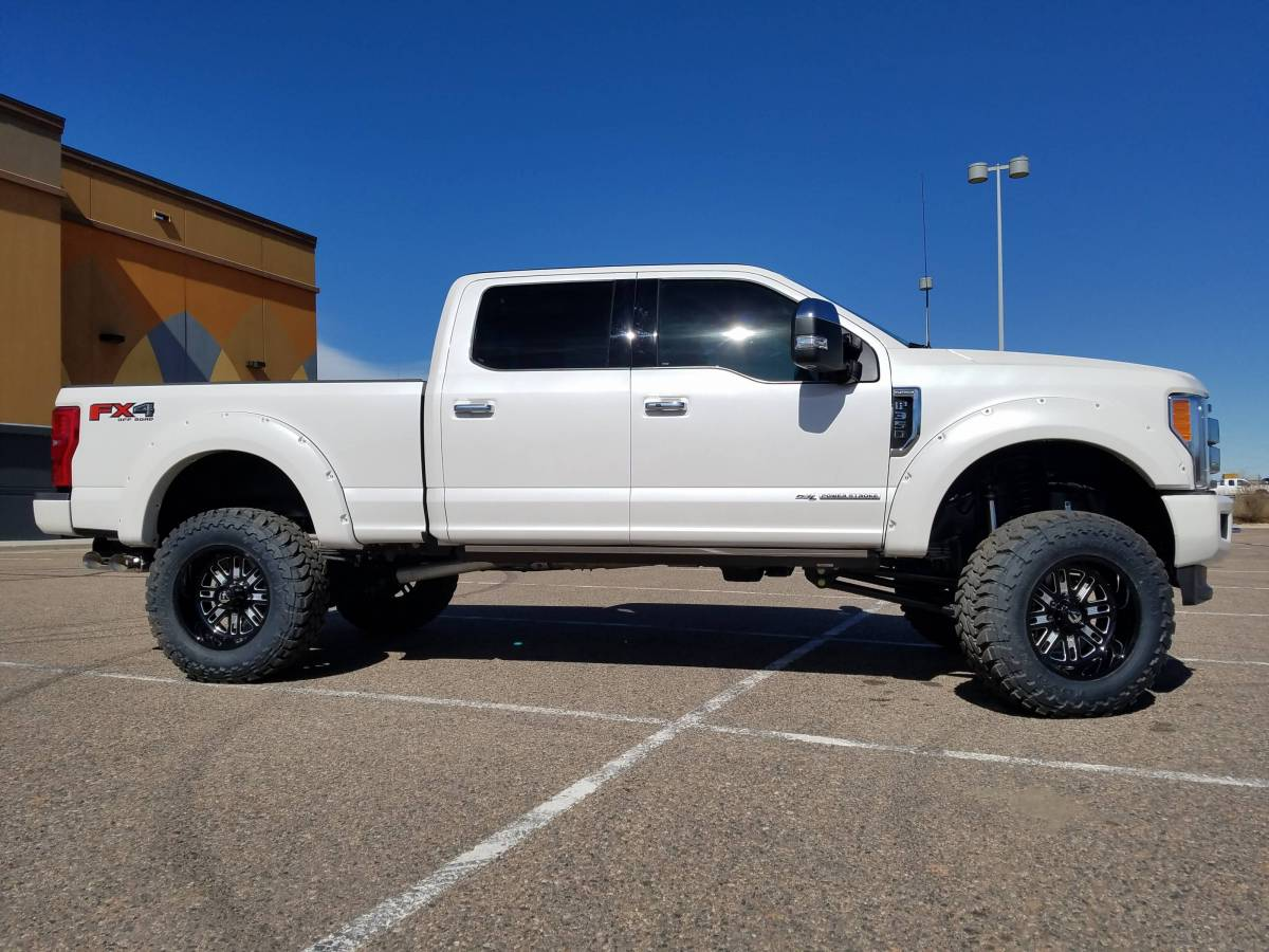 2017 Ford F350 Super Duty Fabtech Motorsports 6 4 Link Conversion With Forged Fuel Offroadwheels And Toyo M T S Build 78910