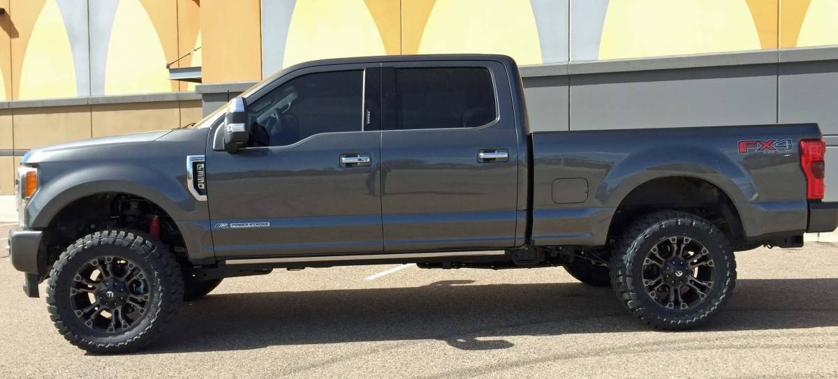 I 23040615 2017 Ford Super Duty F350 Platinum Ready Lift Level Fuel Wheels And Toyo M T Tires Build 79447
