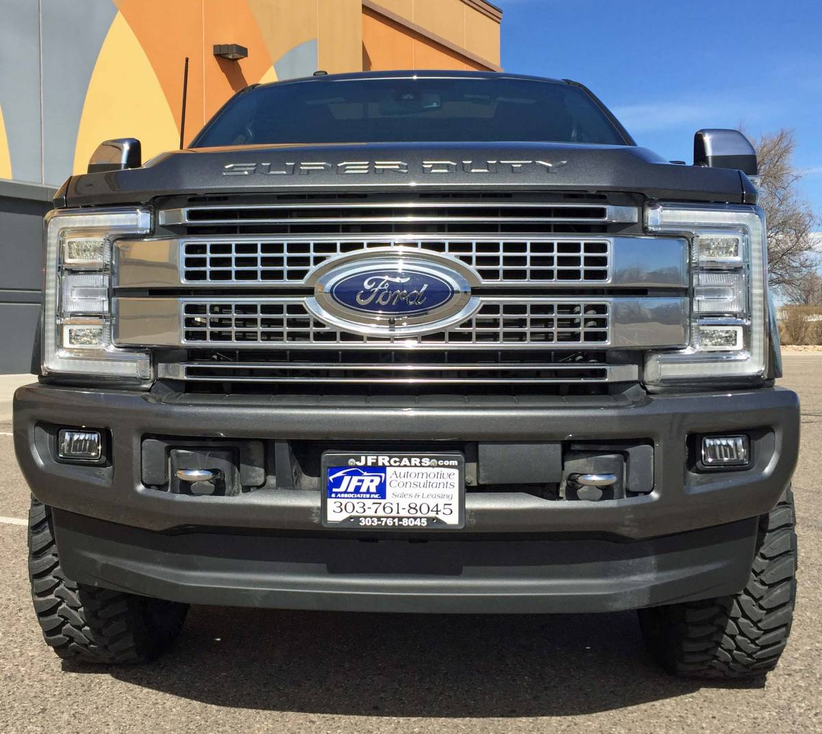 2017 FORD F350 SUPER DUTY READYLIFT LEVELING KIT WTH FUEL OFFROAD WHEELS ON TOYO M/T TIRES ...