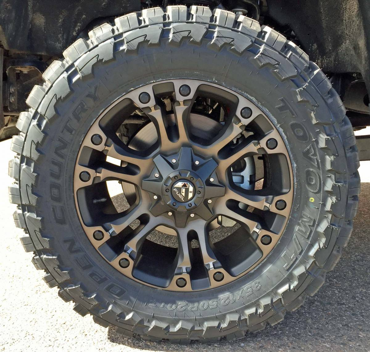 2017 Ford F350 Platinum >> 2017 FORD F350 SUPER DUTY READYLIFT LEVELING KIT WTH FUEL OFFROAD WHEELS ON TOYO M/T TIRES ...