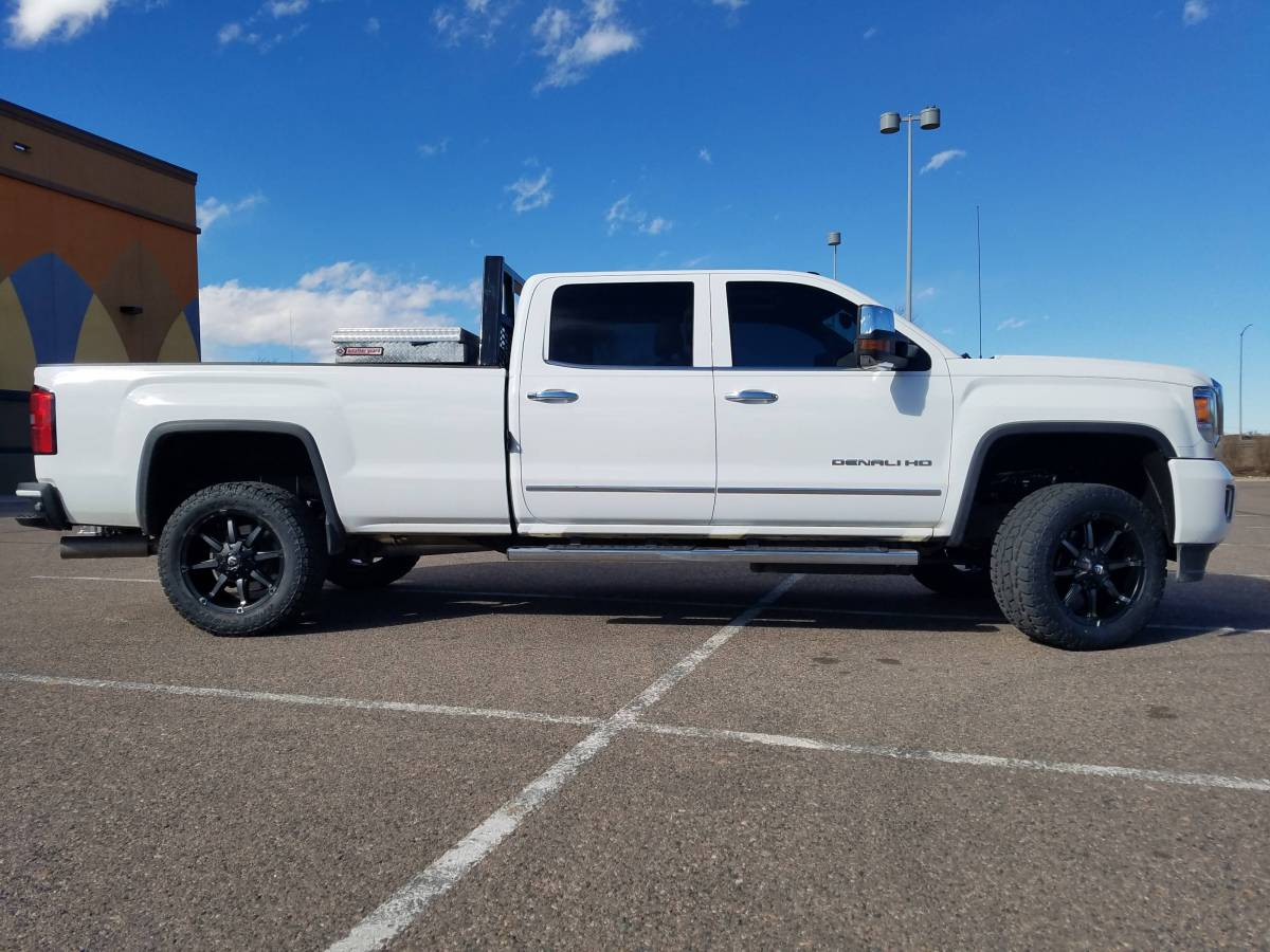 2016 GMC Sierra HD3500 Denali Readylift Leveling kit w ...