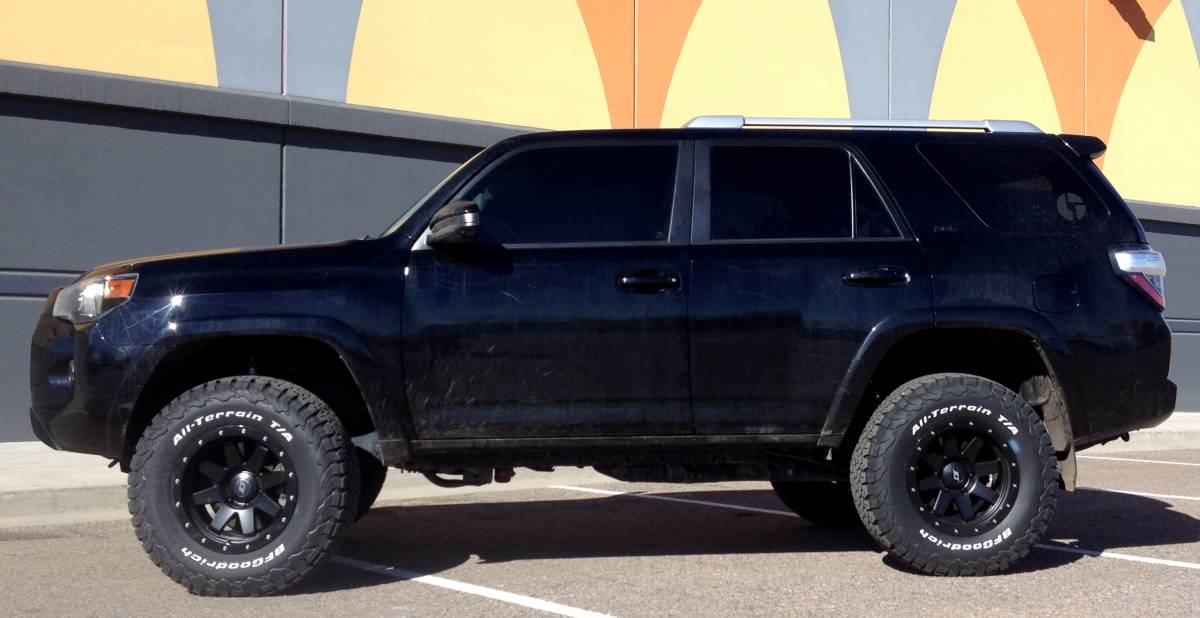 2015 Toyota 4Runner Icon Stage II Lift with SR8 wheels and ...