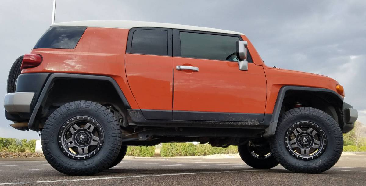 """Toyota Service Appointment >> 2014 TOYOTA FJ CRUISER TOYTEC LIFTS 3"""" ULTIMATE COIL OVER ..."""