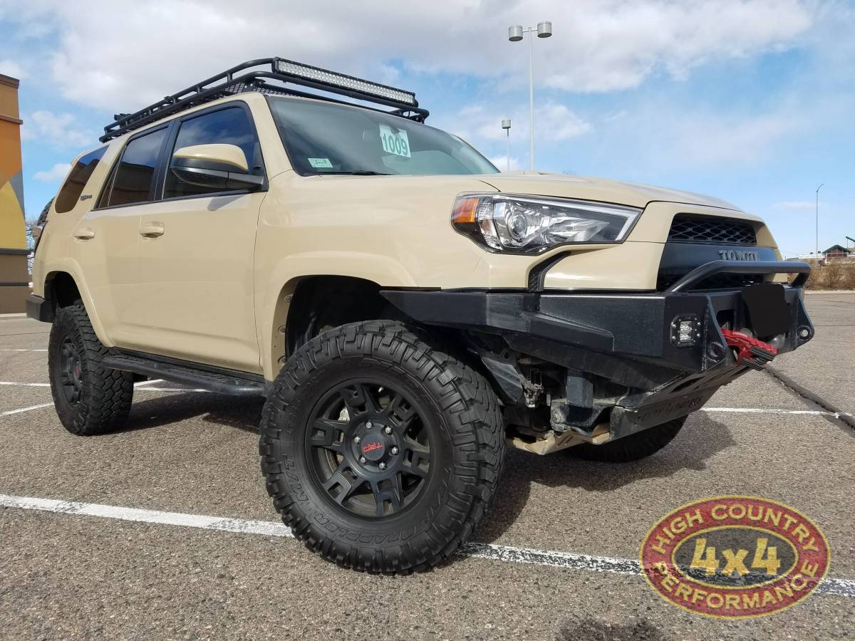 2016 Toyota 4runner Trd Pro Tan Build 84222
