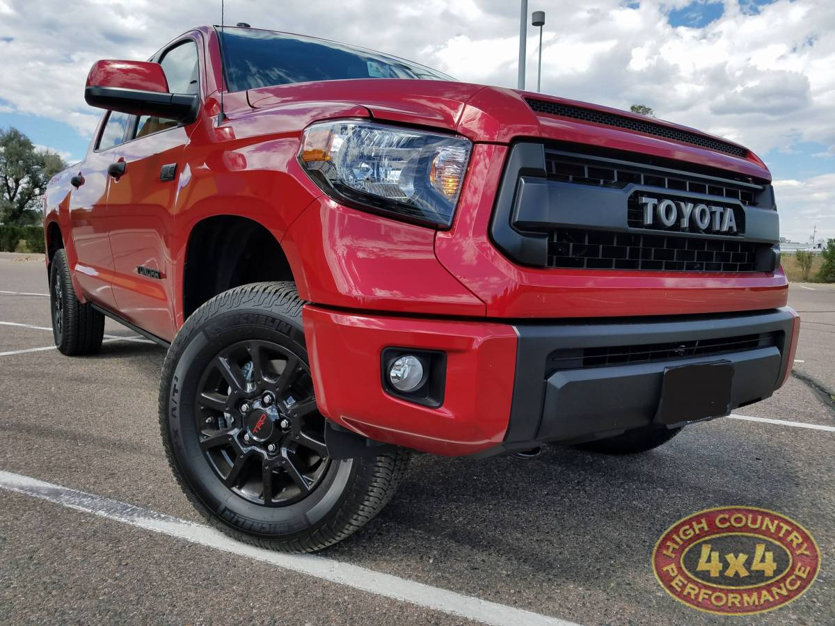 2017 Toyota Trd Pro Red