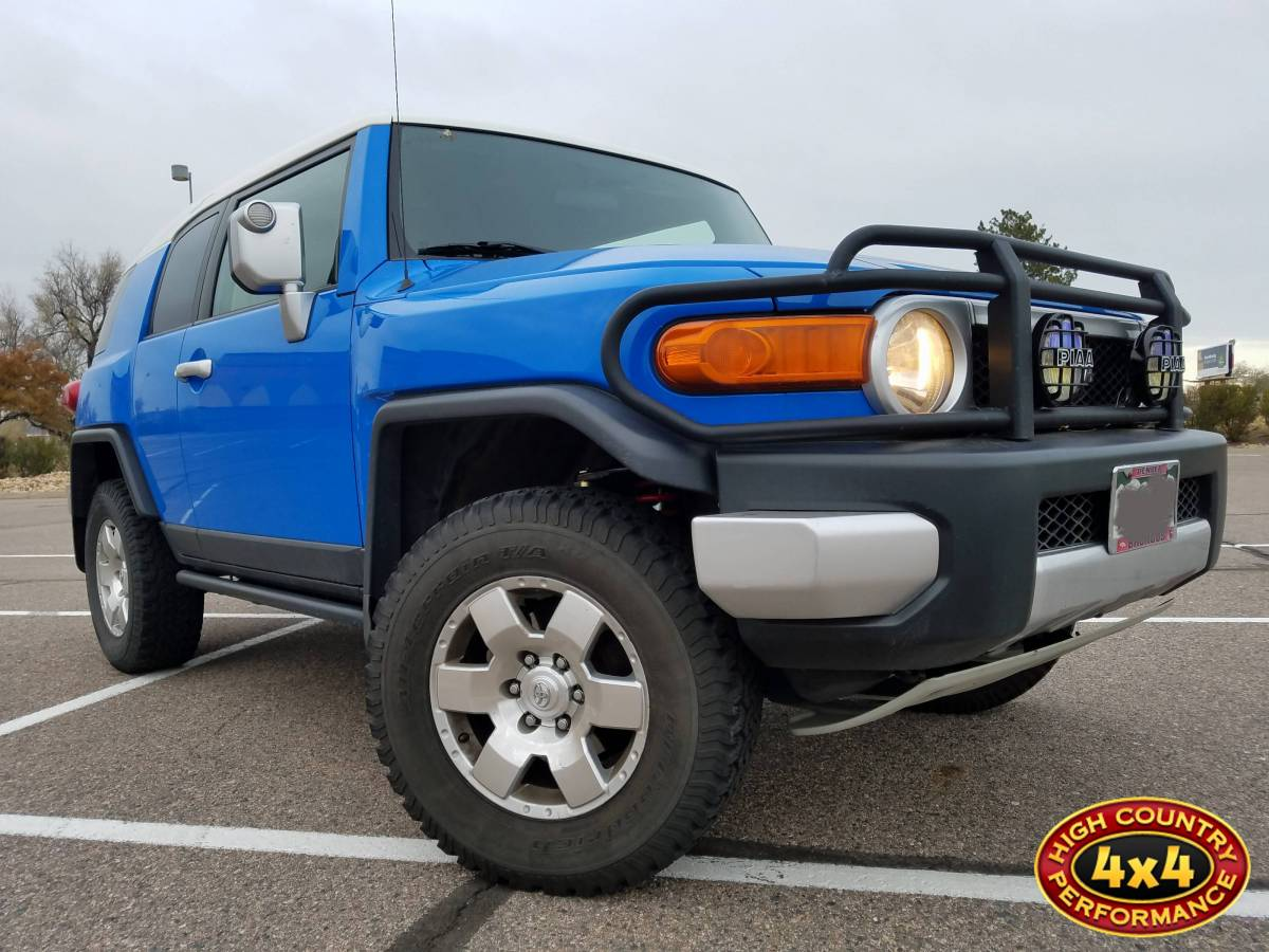 2007 Toyota Fj Cruiser Blue Land Lift Kit Toytec 3 Ultimate W Spc Performance Upper Control Arms Build83821