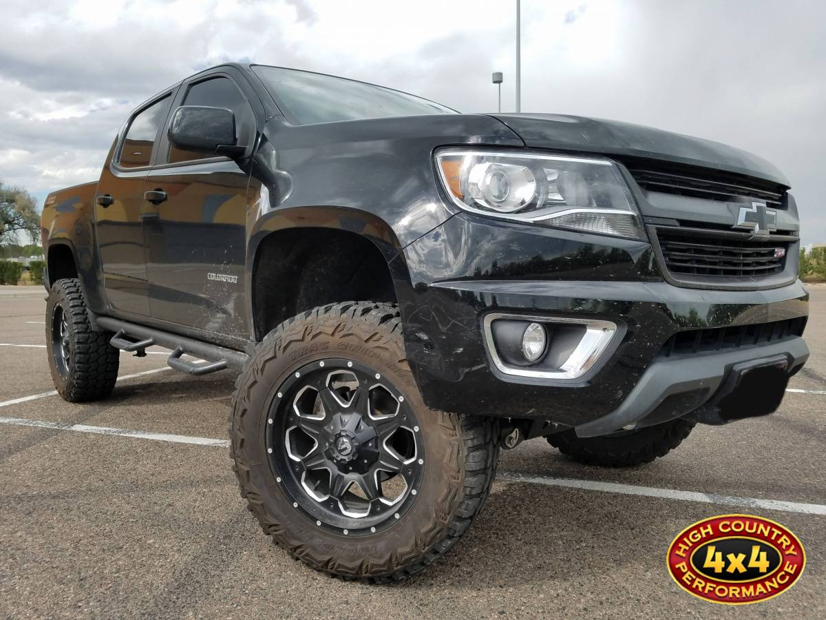 2016 Chevy Colorado Bds 5 Suspension Lift Build 83204
