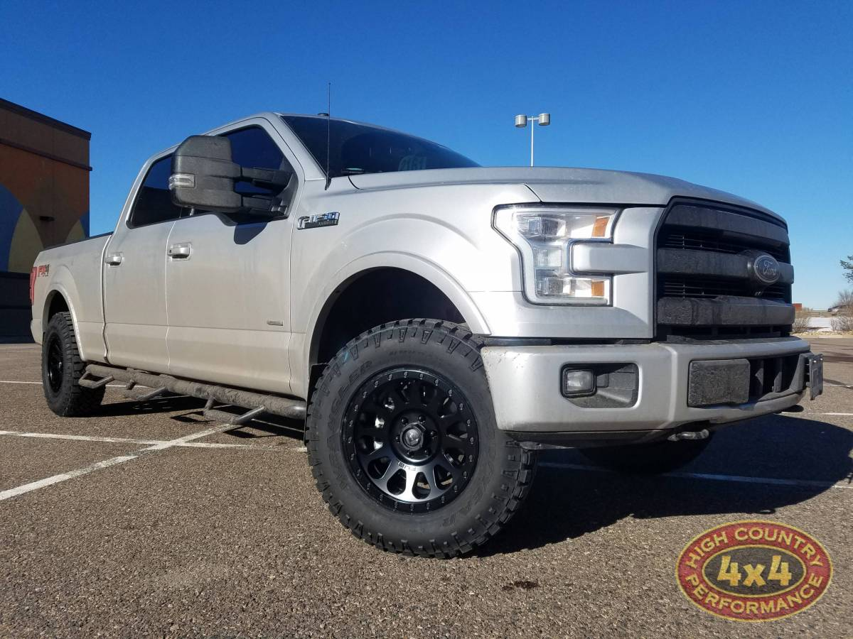 2017 ford f150 fx4 silver 2017 ford f150 readylift leveling kit fuel vector 18x9 wheels 27570r18 duratrac tires build84846 freerunsca Choice Image