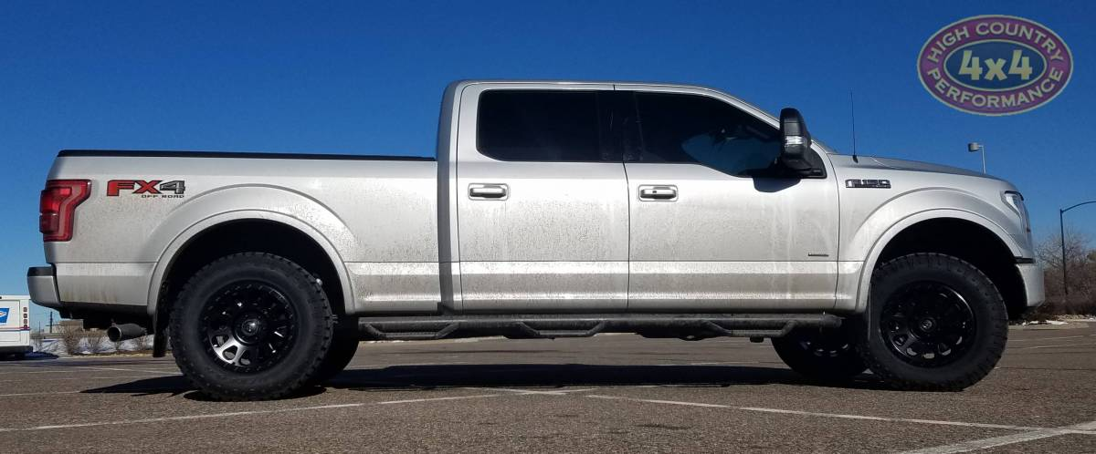 275 70r18 Tires >> 2017 FORD F150 FX4 SILVER