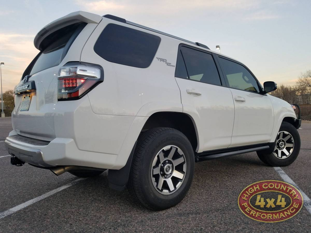 Toyota Service Appointment >> 2017 TOYOTA 4RUNNER TRD WHITE