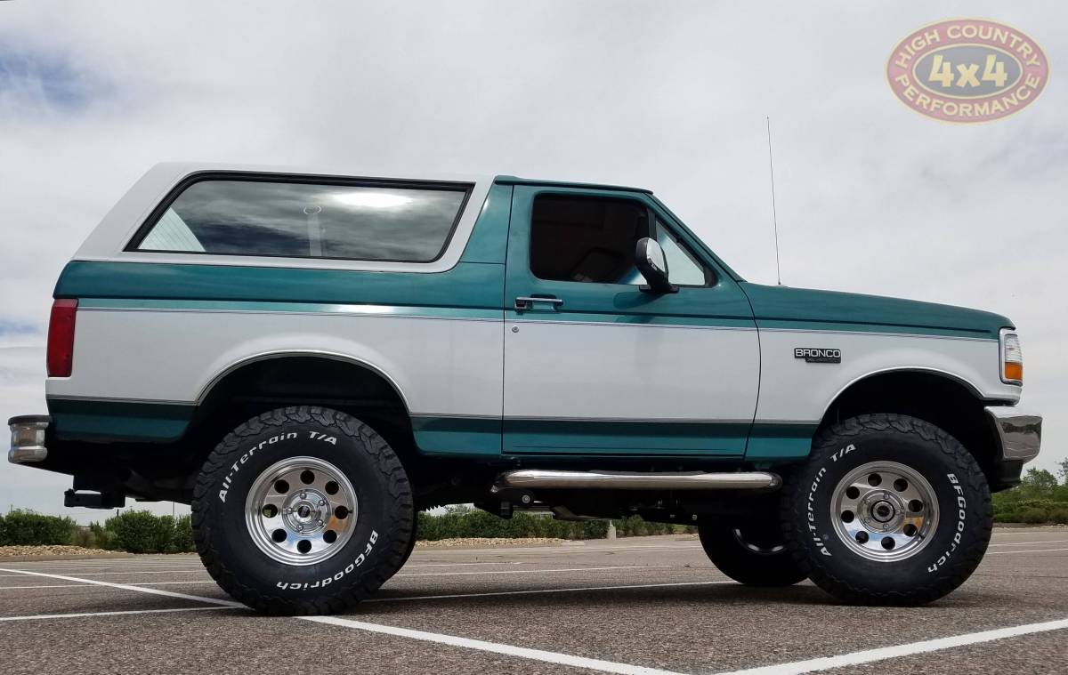 1996 FORD BRONCO TEAL