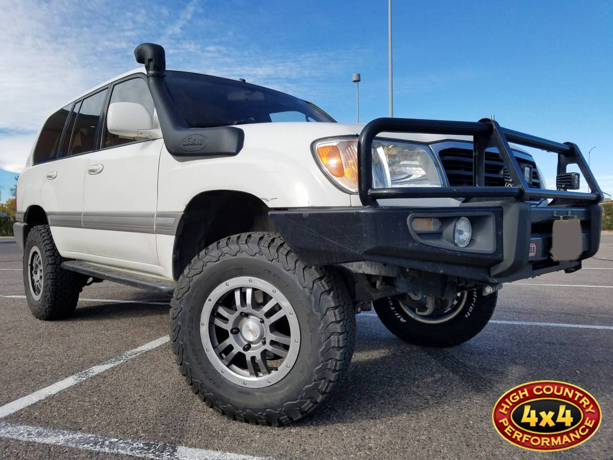 2000 TOYOTA LAND CRUISER OLD MAN EMU LIFT KIT WITH SPC UPPER CONTROL ARMS  ARB BUMPER (BUILD#82773)