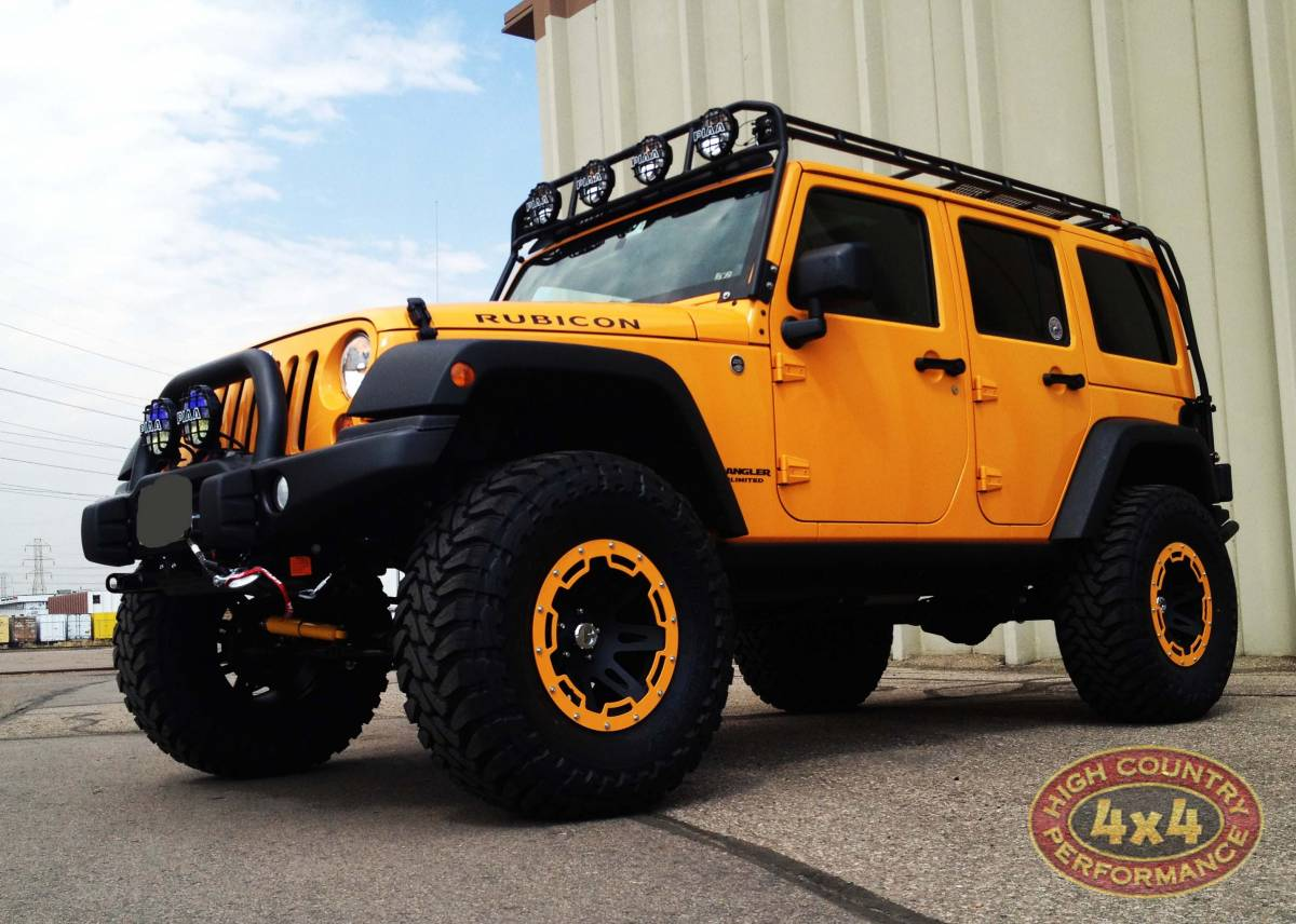 2012 Jeep Jkur Aev 3 5 Quot Dual Sport Suspension On 37 Quot Toyo