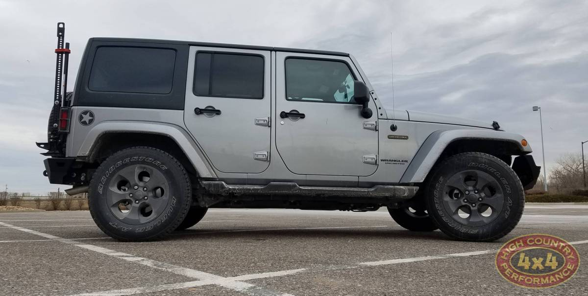 2017 JEEP JKU OSCAR MIKE EDITION SILVER