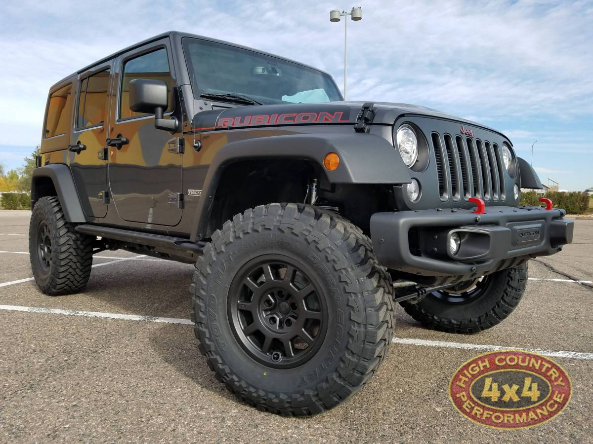 2017 Jeep Jku Aev 3 5 Rs Suspension With Reservoirs On 35 Toyo M T Tires Build 83569