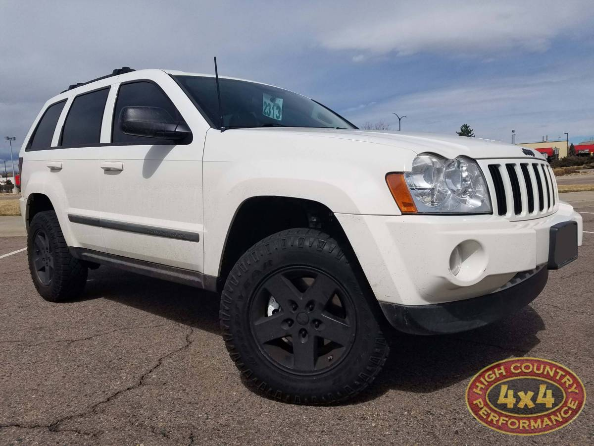 2007 JEEP GRAND CHEROKEE WHITE