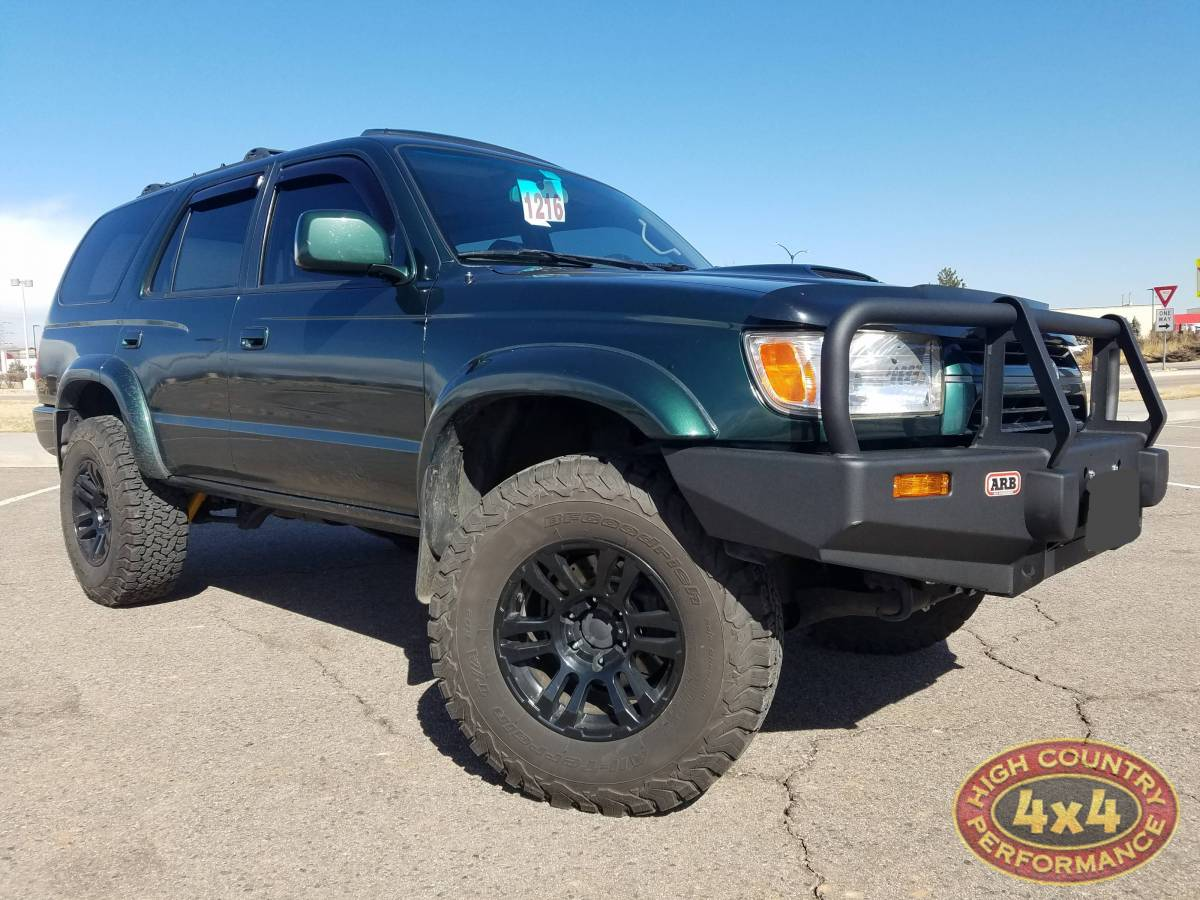 2001 Toyota 4runner Green