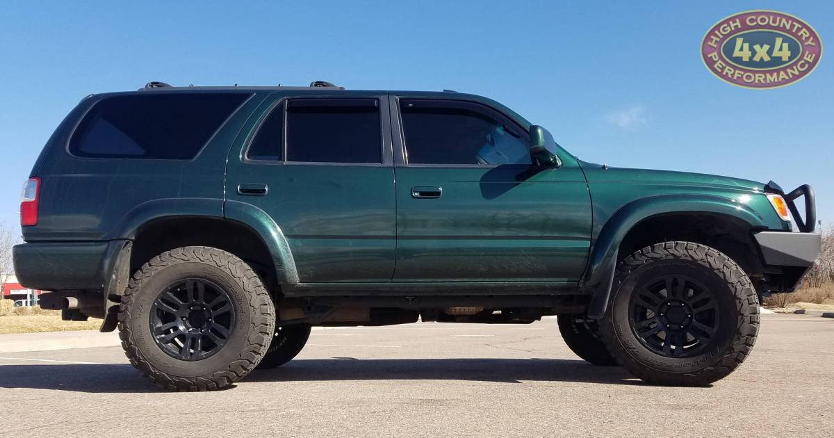 2001 Toyota 4runner Old Man Emu 2 Hd Suspension With Arb Deluxe Bumper Build 85285