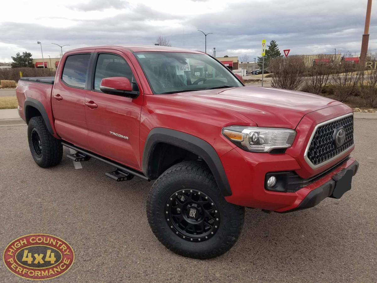 2018 Toyota Tacoma Red