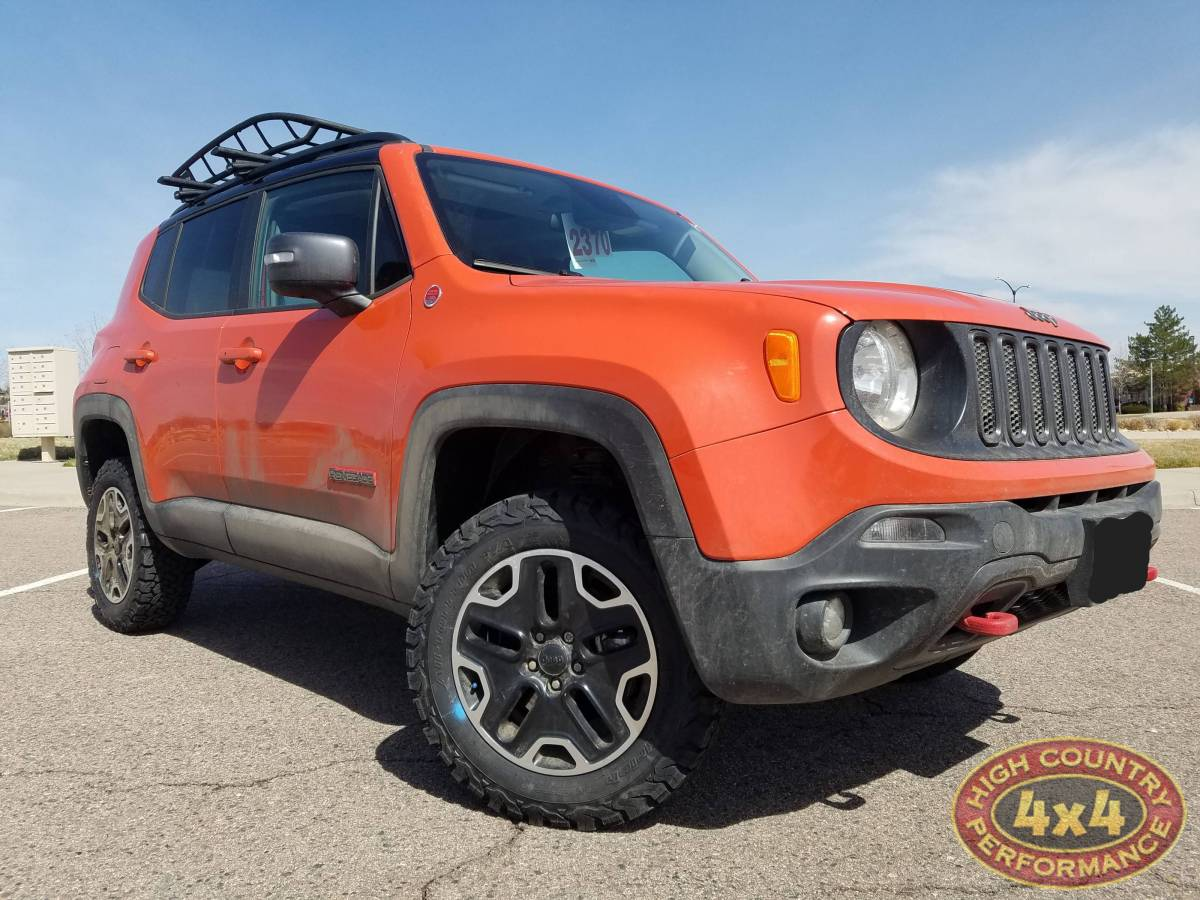 2017 Jeep Renegade Trail Hawk Orange
