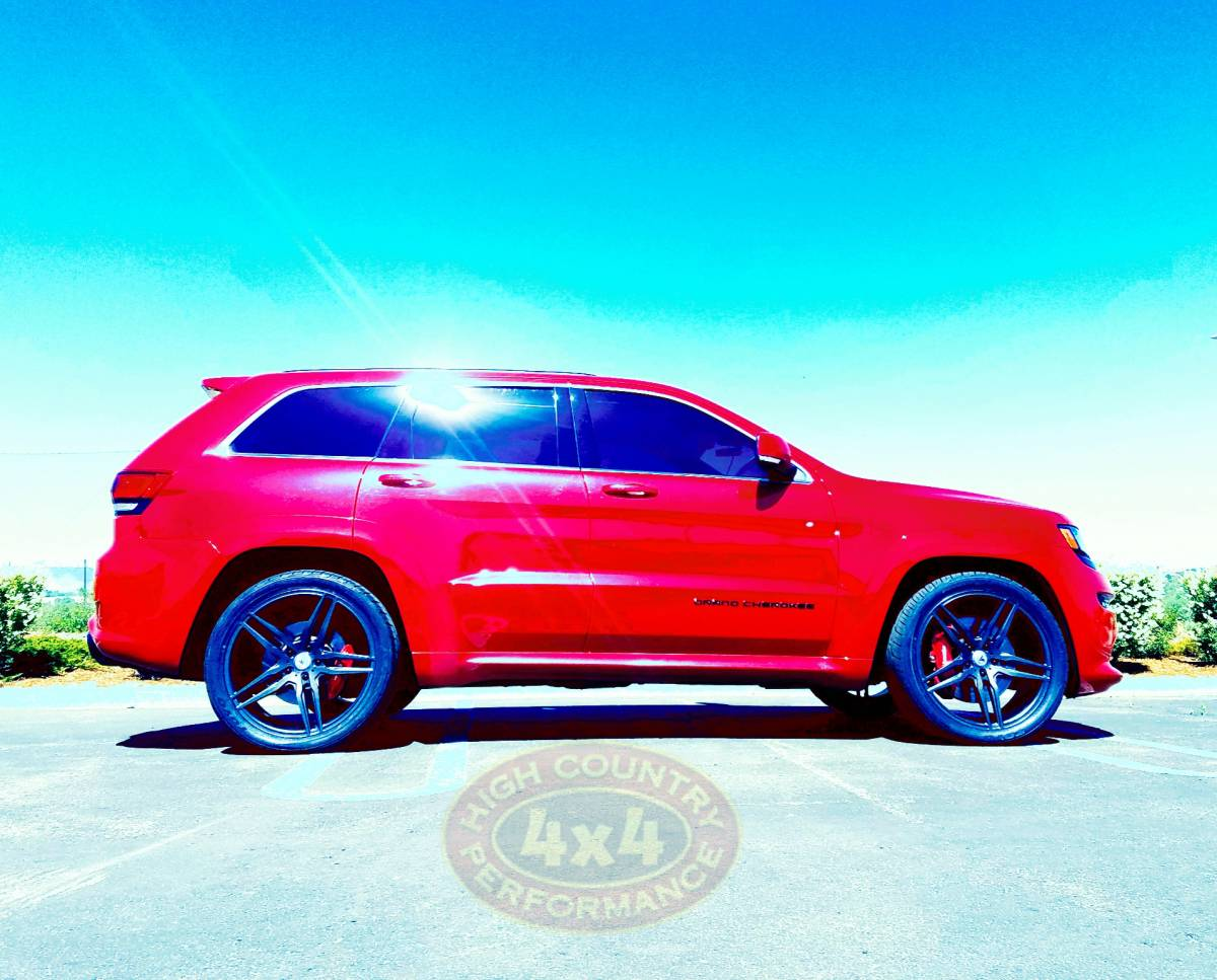2015 JEEP GRAND CHEROKEE SRT8 RED