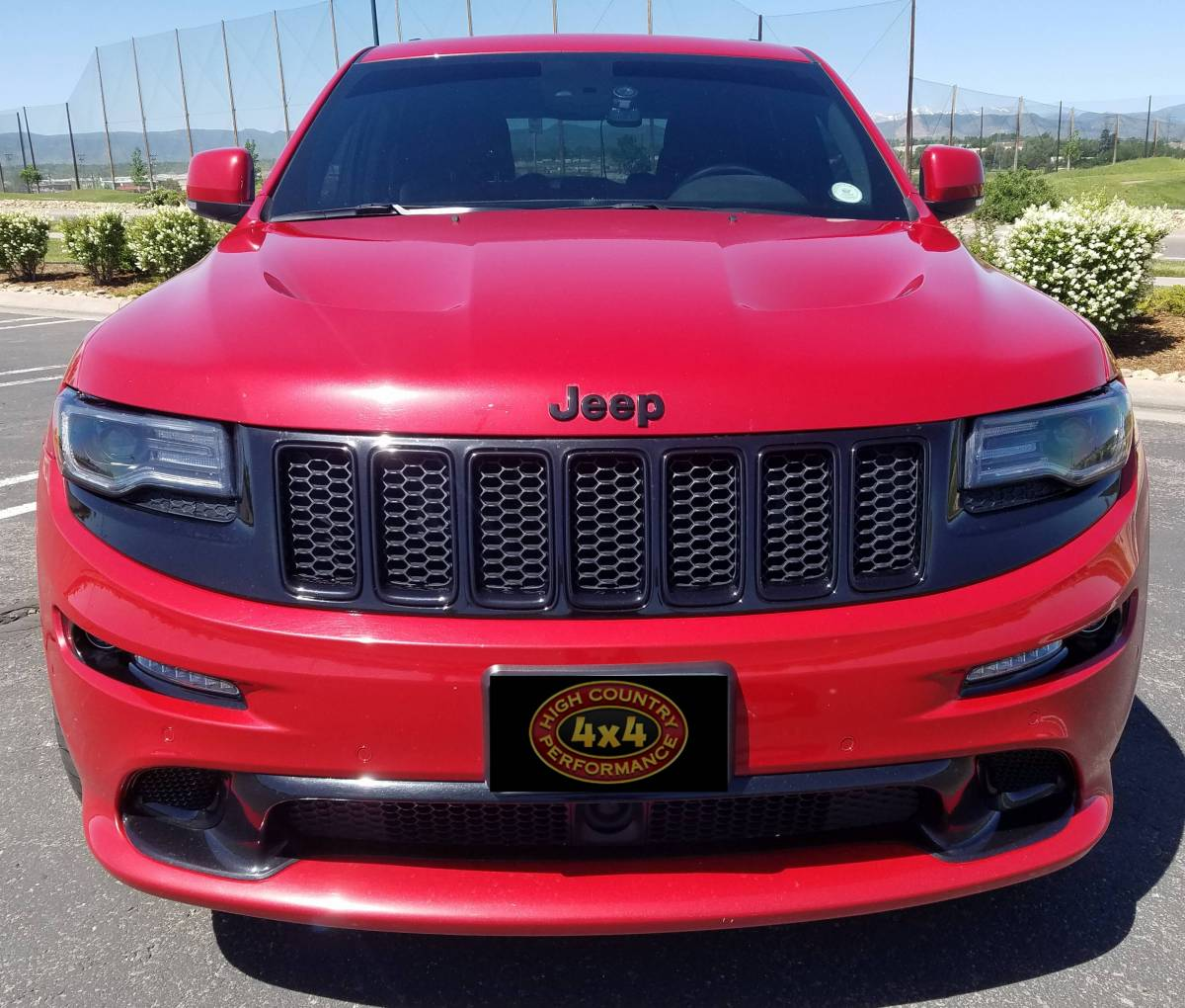 Build A Jeep >> 2015 JEEP GRAND CHEROKEE SRT8 RED