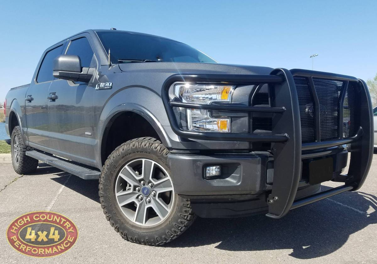 2016 Ford F150 Westin Grill Guards W Intake And Exhaust Build 86207