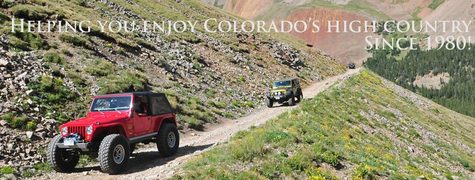 HCP4x4 is helping you explore Colorado