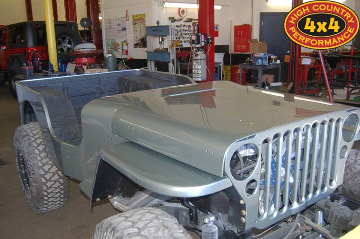 Photo Gallery - Jeep Flattys - Flat Fender Builds, Restomods