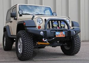 "HCP 4x4 Vehicles - 2012 AEV 3.5"" SUSPENSION, BUMPERS, & TERAFLEX ROCK SLIDERS"