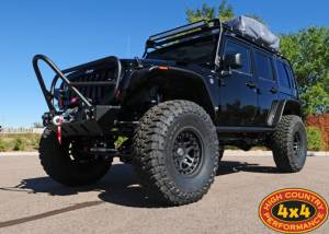 "HCP 4x4 Vehicles - 2012 JEEP JKU RUBICON TERAFLEX 6"" PRE-RUNNER SUSPENSION ON 40"" TOYO M/T TIRES AND HUTCHINSON BEADLOCKS GENRIGHT ARMOUR (BUILD#46209) - Image 1"