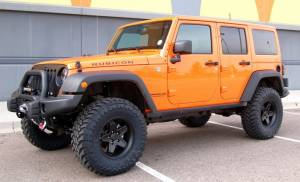 "HCP 4x4 Vehicles - 2013 JEEP JKUR AEV 3.5"" DUAL SPORT SUSPENSION ON 35"" TOYO M/T TIRES AND AEV PINTLER WHEELS WITH AEV BUMPERS"