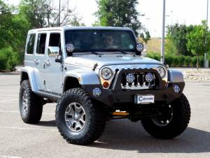 """HCP 4x4 Vehicles - 2013 JEEP JKUR AEV 4.5"""" DUAL SPORT SUSPENSION ON 37"""" NITTO TRAIL GRAPPLER TIRES WITH ROCK-SLIDE ENGINEERING BUMPERS"""