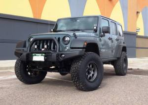 """HCP 4x4 Vehicles - 2014 JEEP JKUR AEV 3.5"""" DUAL SPOR SC SUSPENSION ON 35"""" TOYO A/TII TIRES AND FUEL TROPHY WHEEL WITH AEV BUMPERS"""