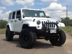 "HCP 4x4 Vehicles - 2014 JEEP JKUR AEV 3.5"" DUAL SPORT SUSPENSION ON 35 TOYO M/T'S WITH ARB BUMPERS & TERAFLEX TIRE CARRIER - Image 1"