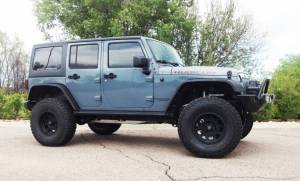 "HCP 4x4 Vehicles - 2015 JEEP JKU AEV 4.5"" RS SUSPENSION ON 37"" BFGOODRICH A/T KO2 TIRES AND XD ENDURO WHEELS WITH RSE FENDERS"