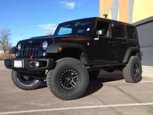 "HCP 4x4 Vehicles - 2016 JEEP JKU AEV 3.5"" DUAL SPORT SUSPENSION ON 35"" BFGOODRICH AT KO2 TIRES AND ATX CORNICE WHEELS"
