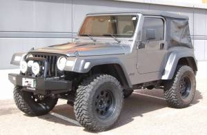 "HCP 4x4 Vehicles - 2000 JEEP WRANGLER TJ OME 2"" SUSPENSION 1"" BODY LIFT 35"" COOPER STT TIRES"