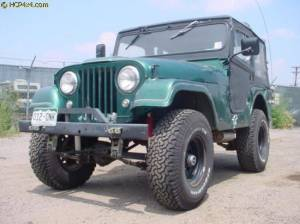"HCP 4x4 Vehicles - CJ5 W/ 2.5"" BDS LIFT AND GARVIN BUMPER"
