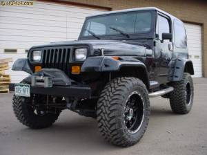 "HCP 4x4 Vehicles - 1994 YJ 2"" BDS LIFT"