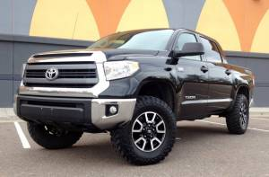 "HCP 4x4 Vehicles - 2015 TOYOTA TUNDRA 3"" TOYTEC BOSS SUSPENSION 34"" TOYO MT - Image 1"