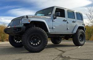 """HCP 4x4 Vehicles - 2017JEEP JKU HARD ROCK EDITION AEV 4.5"""" RS SUSPENSION WITH 37"""" TOYO M/T TIRES"""