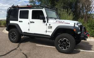 "HCP 4x4 Vehicles - 2016 JEEP JKU HARD ROCK EDITION AEV 2.5 DUAL SPORT SUSPENSION ON 33"" GOODYEAR DURATRACS - Image 1"