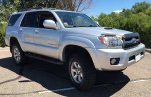 """HCP 4x4 Vehicles - 2006 TOYOTA 4RUNNER TOYTEC BOSS 3"""" COILOVER SUSPENSION WITH SPC UCA'S"""